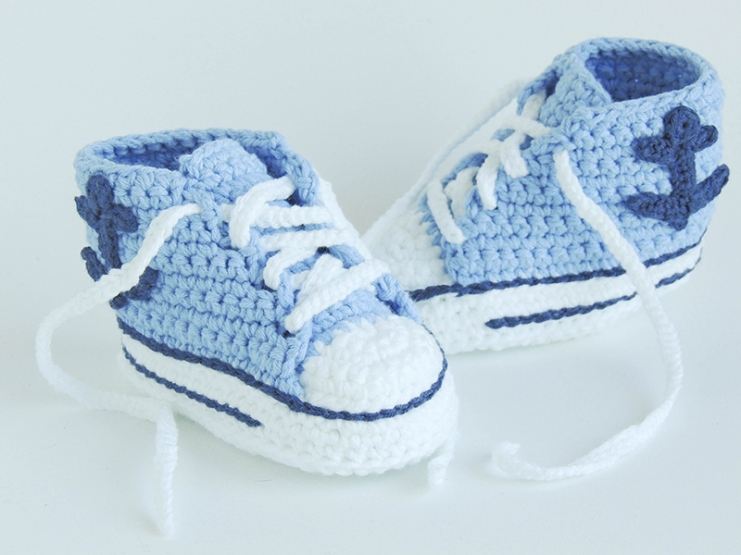 nautical baby shower, baby blue crochet sneakers, baby sailor outfit, baby converse