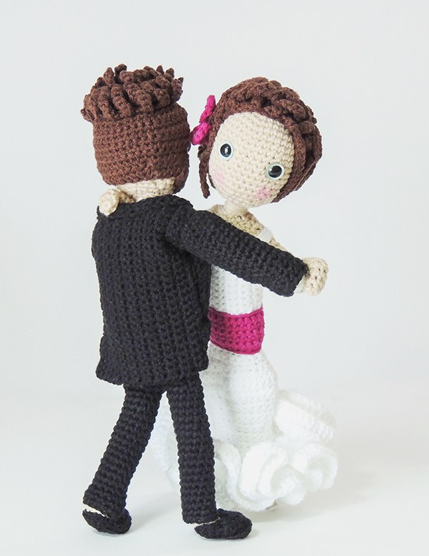 Etsy, wedding, shop, store, bridal, bride, groom, couple, amigurumi, personalized, dolls, souvenir