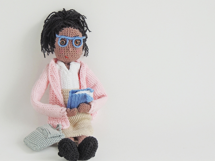 Crochet, stuffed, doll, personalized, gift, for, teachers, day, appreciation, gift