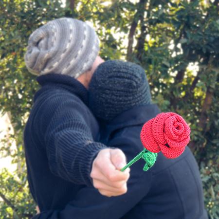 pinterest rosa tejida a mano, regalos de aniversario, San Valentin, dia de la madre special valentines and anniversary gifts 1